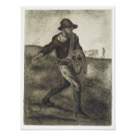 Sembrador, Van Gogh Poster