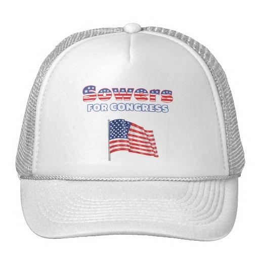 Sembradores para la bandera americana patriótica d gorro