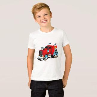 Semi camiseta del camión para los muchachos