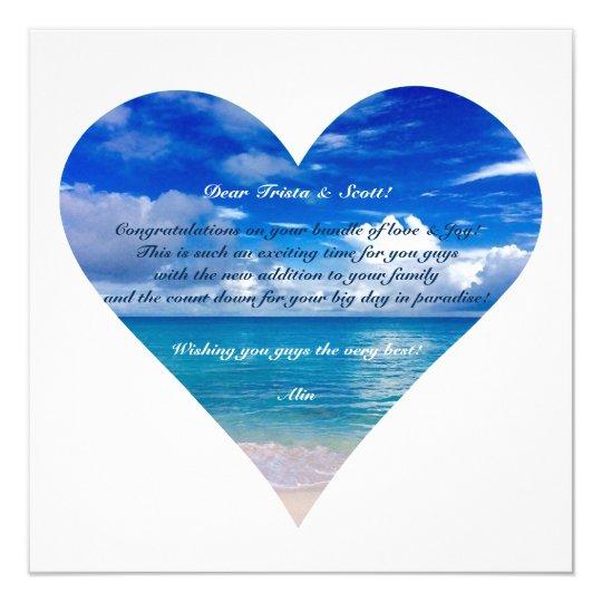 Semi-Lustre azul de la tarjeta de la enhorabuena