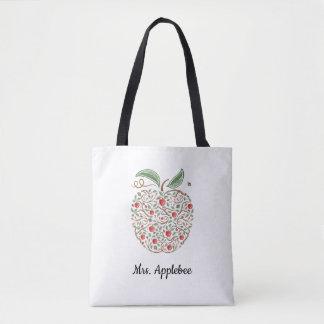 Semillas de la bolsa de asas de Apple del profesor