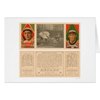 Senadores Baseball 1912 de Elberfeld Tarjeta De Felicitación