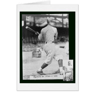 Senadores Bucky Baseball 1925 de Harris Felicitación