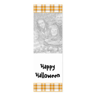 Señal adaptable de la foto de Halloween Plantillas De Tarjeta De Negocio