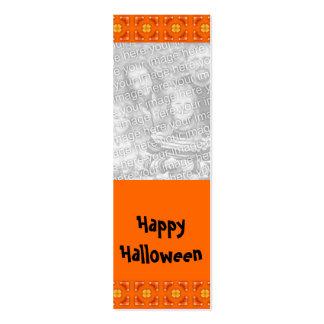 Señal adaptable de la foto de Halloween Plantilla De Tarjeta Personal