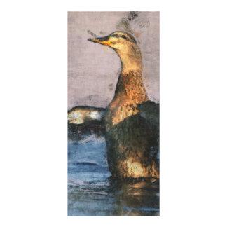 Señal alegre del pato lonas