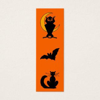 Señal de Halloween Tarjeta De Visita Pequeña