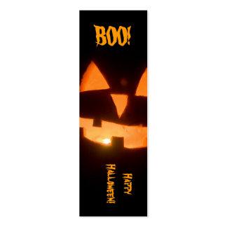 señal de Halloween Plantillas De Tarjetas Personales