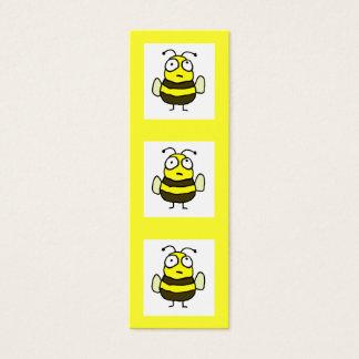 Señal de la abeja tarjeta de visita mini