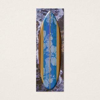 Señal de la tabla hawaiana de Haleiwa Tarjeta De Visita Pequeña