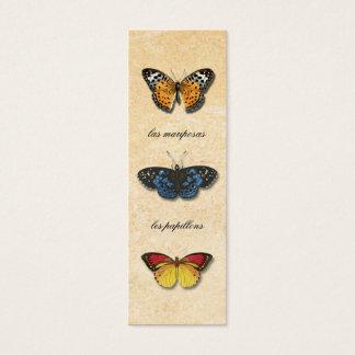 Señal de Les Papillons Tarjeta De Visita Pequeña