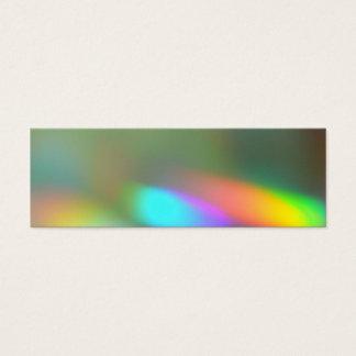 Señal de los fantasmas del arco iris tarjeta de visita pequeña