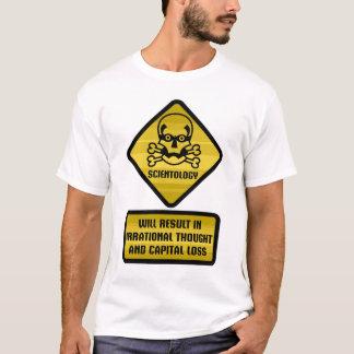 Señal de peligro - Scientology Camiseta