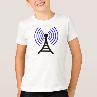 Señal de radio camiseta