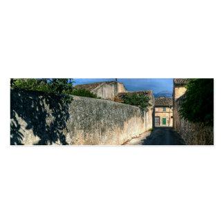 Señal de Sineu, Mallorca Tarjetas De Visita Mini