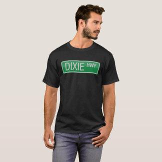 Señal de tráfico de la carretera de Dixie Camiseta