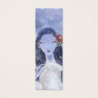 Señal de Yukionna Tarjeta De Visita Pequeña