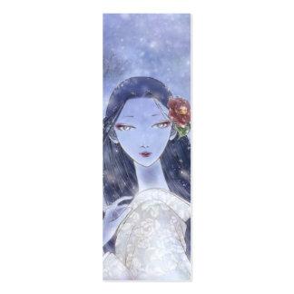 Señal de Yukionna Tarjetas De Visita