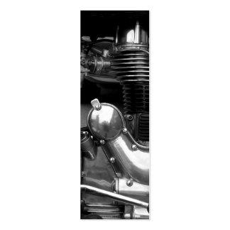 Señal del motor II de la motocicleta Tarjeta De Visita
