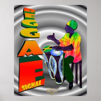 Señal del reggae