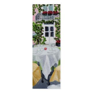 Señal flaca del DES Marechaux de la tabla del La Tarjetas De Visita Mini