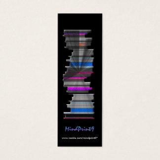 Señal - Libro-pila Tarjeta De Visita Mini