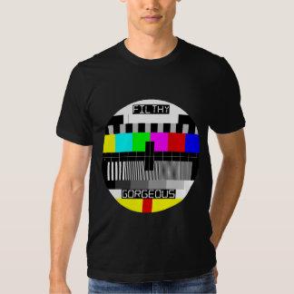 Señal magnífica asquerosa de la TV Camiseta