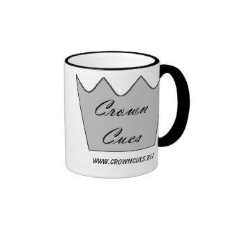 Señales de la corona - taza de la taza de café