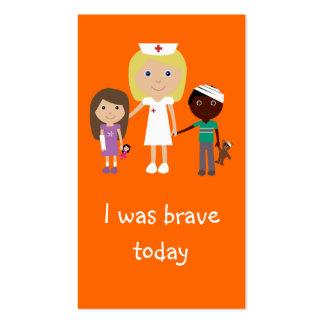 Señales del valor de 100 enfermera, de los niños y plantillas de tarjetas personales