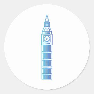 Señales - pegatina de Big Ben