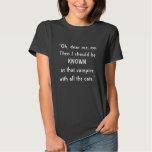 Señor Akeldama Vampire Cats Quote, Gail Carriger Camiseta