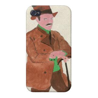 Señor alemán iPhone 4/4S carcasa