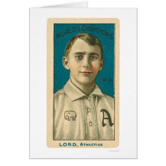 Señor Baseball 1910 de Bris Tarjeta De Felicitación