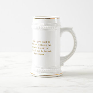 Señor Byron Humorous Quote Taza De Café