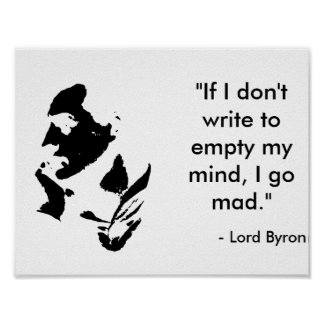 Señor Byron Poster Póster