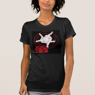 señor de la oscuridad del gato camiseta