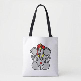 Señor Ganesha Bolsa De Tela