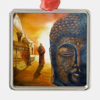 Señor Gautama Buddha Adorno De Cerámica