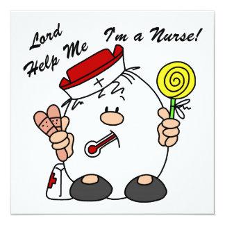 Señor Help Me I es enfermera Comunicados Personalizados