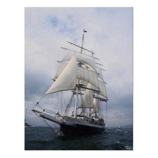 "Señor Nelson"", nave alta Postales"