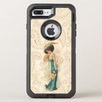 Señora 01 del vintage funda OtterBox defender para iPhone 8 plus/7 plus