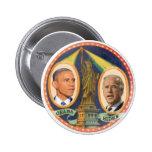 Señora 2012 de Obama Biden LIberty Chapa Redonda De 5 Cm