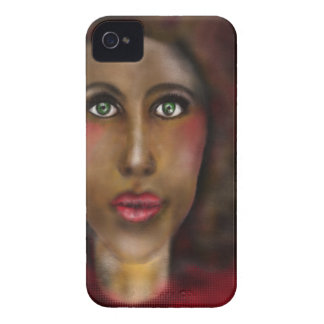 señora afro carcasa para iPhone 4 de Case-Mate