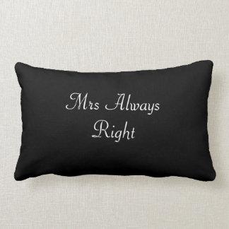 Señora Always la Right Wedding/amortiguador de la Cojín Lumbar