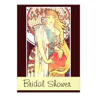 Señora Bridal Shower Invitation de Mucha Comunicado