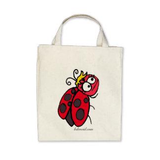 Señora Bug Grocery Tote Bolsa