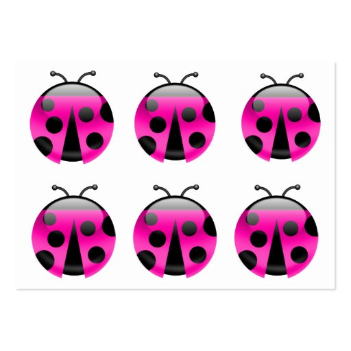 Señora Bugs Are Lucky - SRF Plantilla De Tarjeta Personal