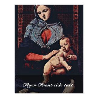 Señora By Piero di Cosimo (la mejor calidad) de la Folleto 21,6 X 28 Cm