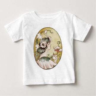 señora camiseta de bebé