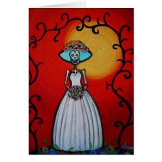 Señora Catrina Card Tarjeta De Felicitación